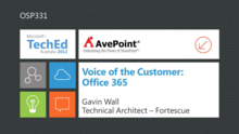 Voice of the Customer: Office 365